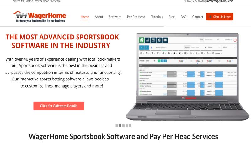 WagerHome.com Bookie Pay Per Head Review